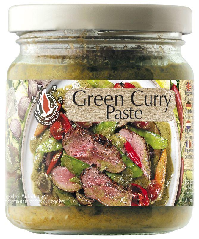 Pasta de curry verde  - 195 gr - Flying Goose