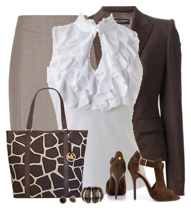 """""""Giraffe Print Bag"""" by daiscat ❤ liked on Polyvore featuring Dolce&Gabbana, Reiss, Wet Seal, Michael Kors and Chinese Laundry"""