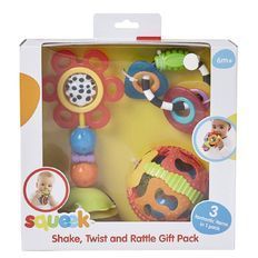 Squeek Shake Twist and Rattle Gift Pack