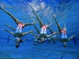 U.S.A. Synchronized Swimming Team, San Jose, California