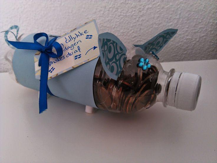 Love Life & DIY: Anderledes pengegave (SpareGris)