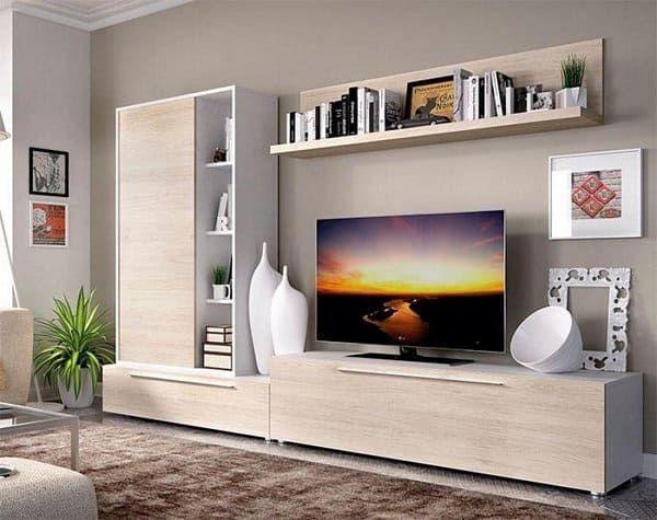 20 Inspiring Modern Tv Stand Ideas For Your Living Room Living Room Wall Units Entertainment Center Living Room Ideas Oak