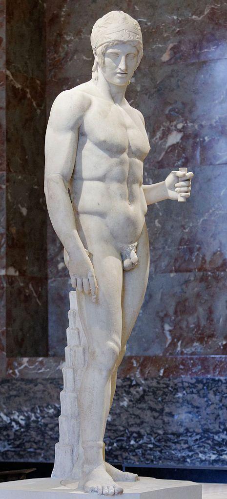 Ares ), Hellenistic statue (marble), 2nd century BC, (Musée du Louvre, Paris).