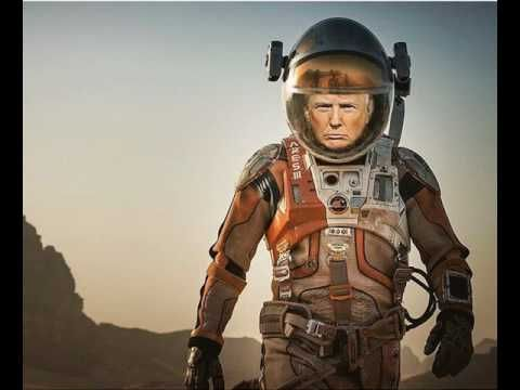 Will Trump go to Mars Nasa nervous wait