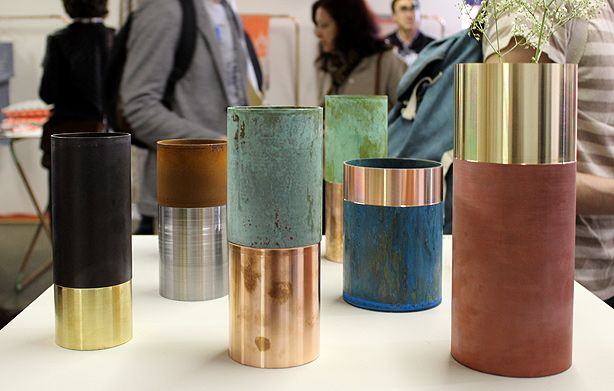Lex Pott's True Colour Vases, spotted at Ventura Lambrate, Milan 2013.