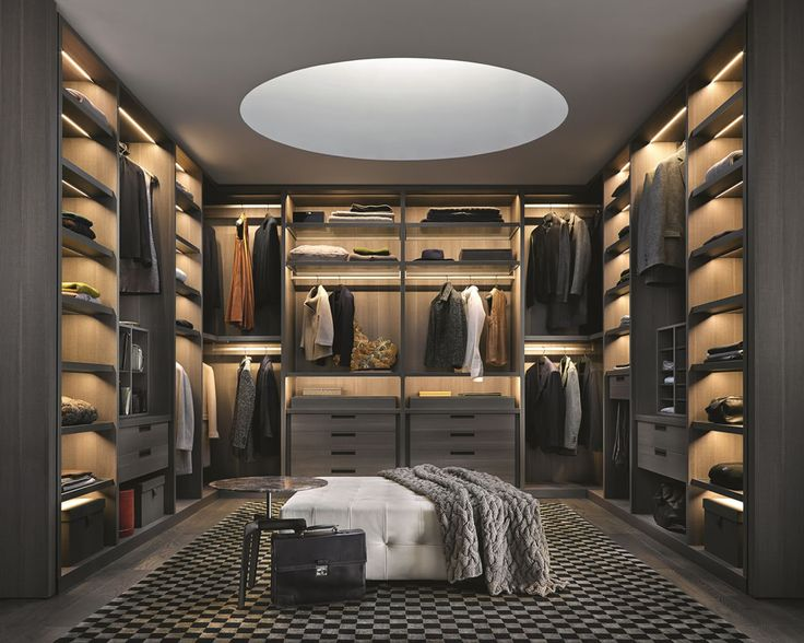 Walk In Wardrobes For Men & Dream Closet Inspiration