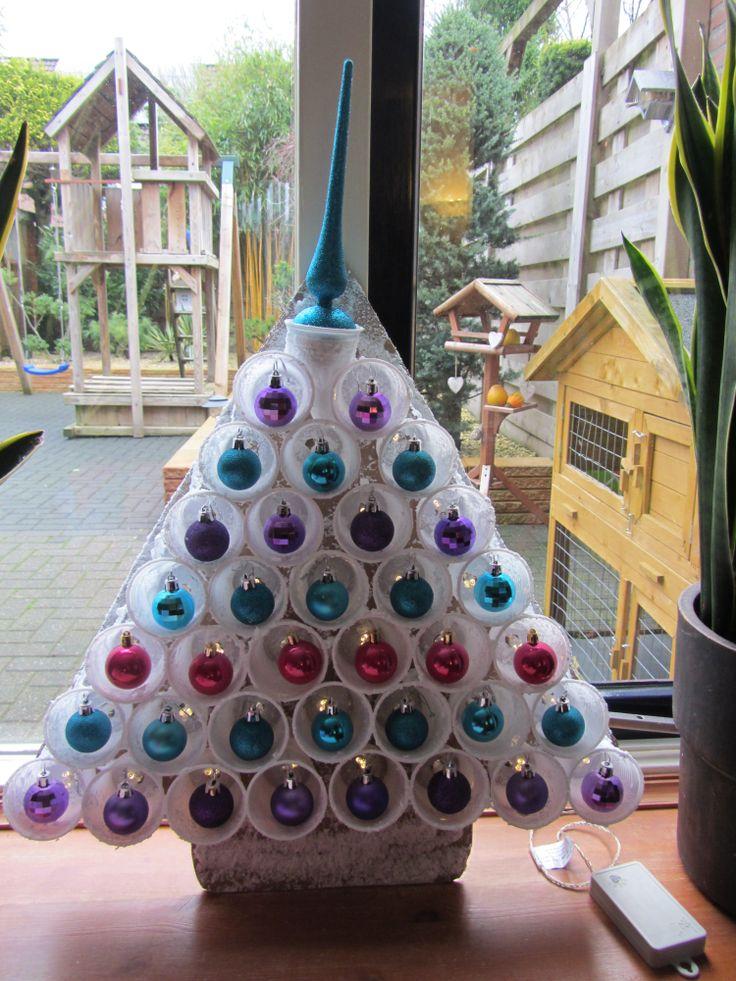 creatief met plastic bekers kerst/cup craft  christmas