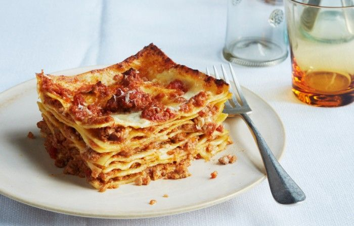 Lasagna Bolognese - Bon Appétit. Just made this tonight & it was amazing. The handmade noodles make this dish!