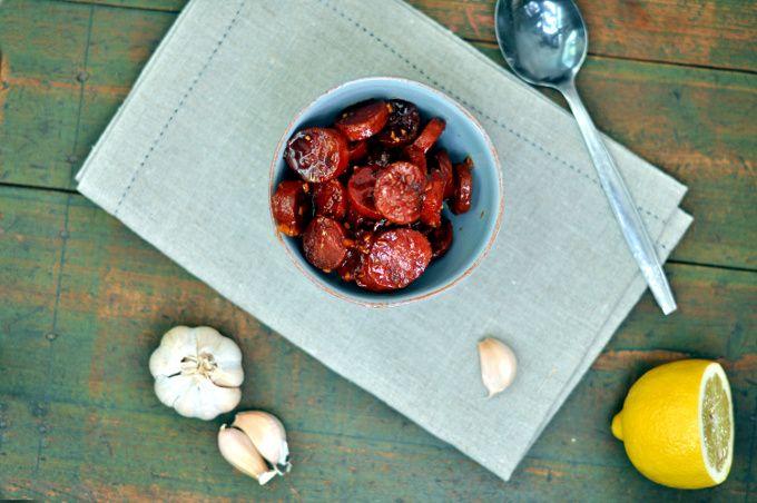 Chorizotapas er en enkel og smakfull rett som passer aldeles utmerket til tapasbordet.