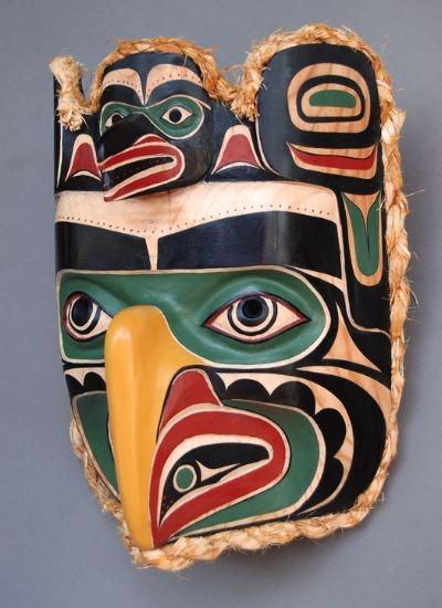 Raven/Eagle Mask: NW Coast