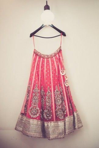 Pink Bridal Lehenga #lehenga #bride #wedmegood