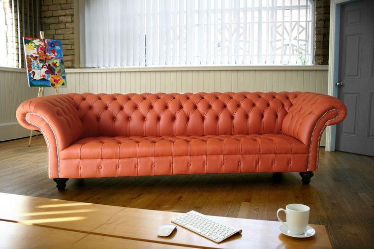 Orange Style Living Room