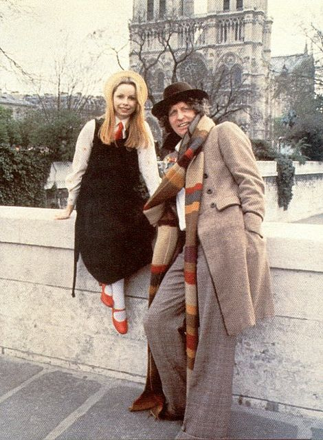 Lalla Ward & Tom Baker by gustavdiesel, via Flickr
