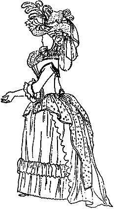 История костюма в период французской революции и директории