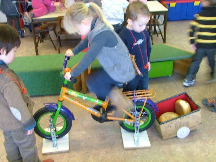 om te onthouden: fiets op wieltjes