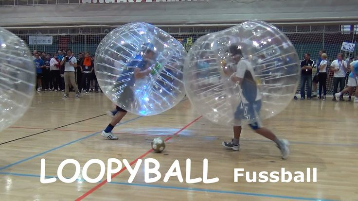 Loopyball Fussball Euromasters Turnier WHU Bubble Football Soccer 2012