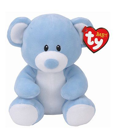 Look what I found on #zulily! Blue Lullaby Bear Baby Ty Plush Toy #zulilyfinds