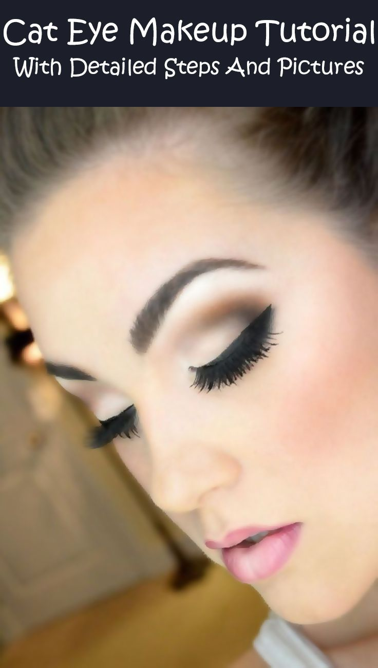 Cat-Eye-Makeup-Tutorial-–-With-Detailed-Steps-And-Pictures