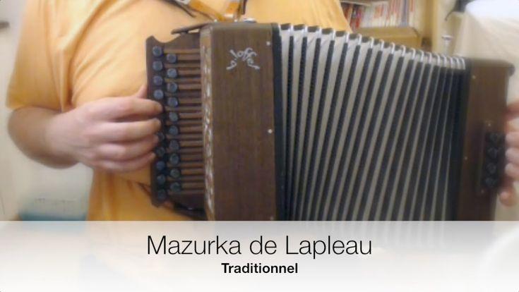 Mazurka de Lapleau (Traditionnel Limousin) – Accordéon diatonique