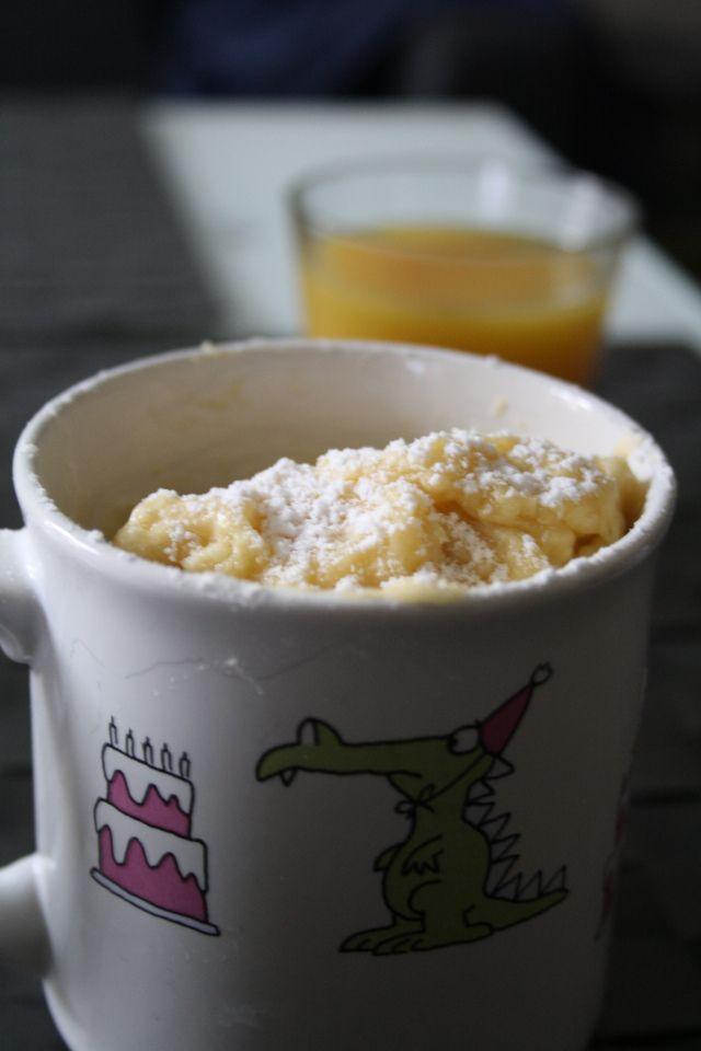 Mug Cake Yaourt