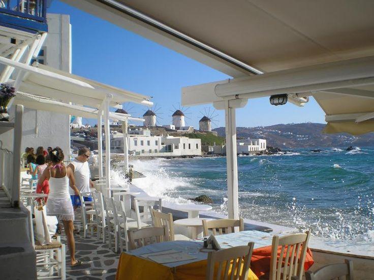 ユーラシア旅行社のギリシャツアーで訪れるミコノス島リトルヴェネツィア