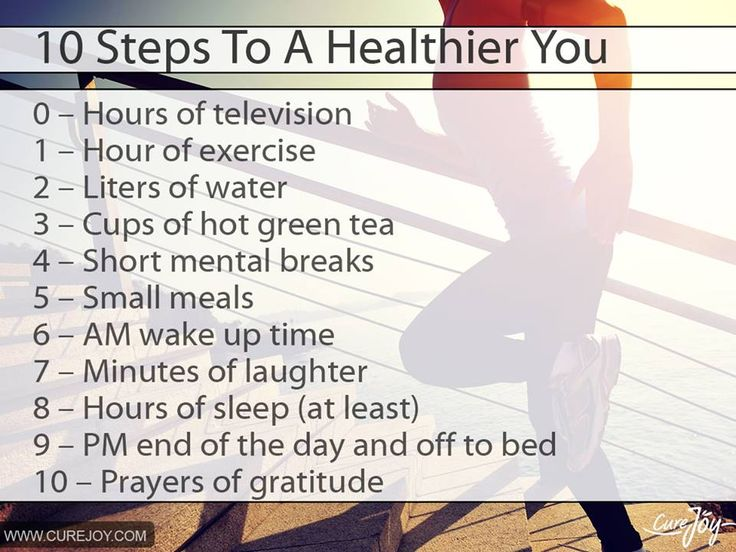 10 steps to a healthier you healthy women pinterest
