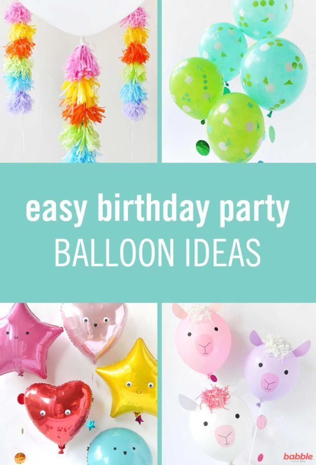 7 Simple Balloon Ideas That Can Plus Up An At Home Birthday Party