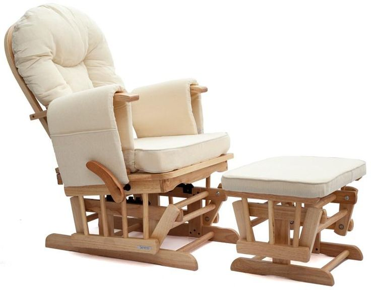 sereno nursing glider maternity rocking chair with footstool in babynursery decoration u0026 for mum