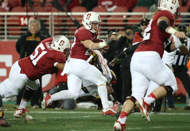 Christian McCaffery in 2014  Foster Farms Bowl vs. Maryland