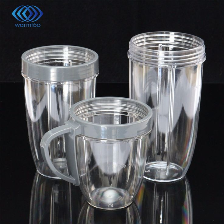 Juicer Accessories 3PC/Set Juicer Cup PC Materials Mug Clear Replacement For NutriBullet Nutri For Bullet Juicer New