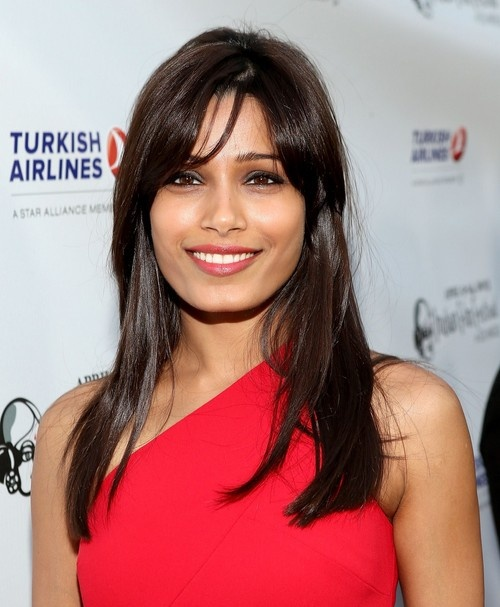 Freida Pinto at Indian Film Festival in Los Angeles on April 9, 2013