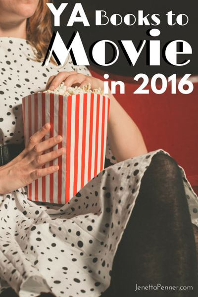 YA Books to Movies in 2016: I'm so bummed the the Hunger Games movies are done! But I found this great list of more of my YA book favorites that are coming to theaters in 2016. Can't wait for #3 on the list.