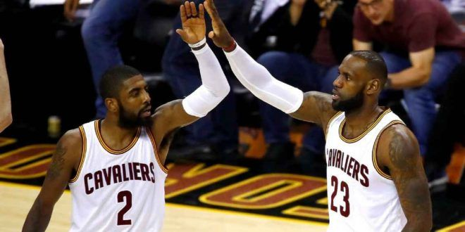 Kyrie Irving: Warriors ' chatter ' for the Cavs ' more power ' in Game 4