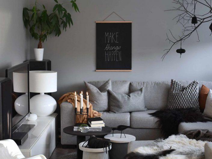 Livingroom. Styling!