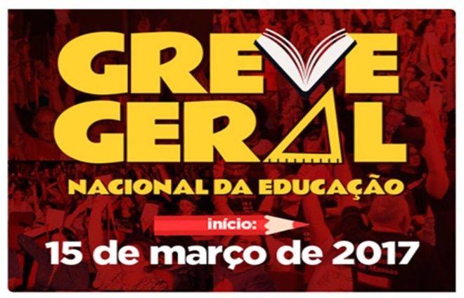Educadores convocam para greve geral em todo país nesta quarta-feira (15)