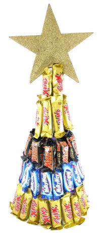 How To Make Lolly Tree Cadbury Wred Chocolates Diy Craft Project With Instructions From