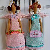 Купить или заказать Венди в интернет-магазине на Ярмарке Мастеров. Милейшее создание! Станет прекрасной подружкой для маленькой и взрослой леди! Создана с большой любовью и теплом, принесет в дом радость и гармонию! При создании ангела использованы ткани, войлок и аксессуары Panduro…