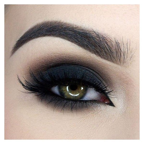 35 Great Grunge Make-up Ideas ❤ liked on Polyvore featuring beauty products, makeup, eye makeup, eyes, beauty, black and too faced cosmetics