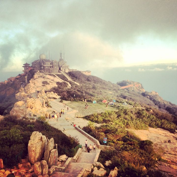 泰山 Mount Tai en Tai'an. China.