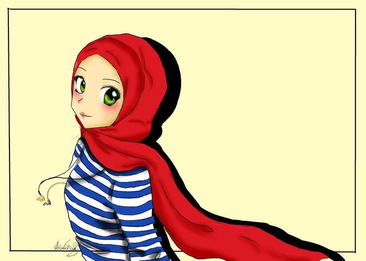 hijab drawings - Google Search