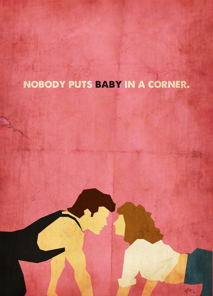 Dirty Dancing [80's Poster Series] by ~trevordraws on deviantART