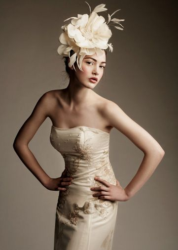 If you're going to do a fascinator, do it right.