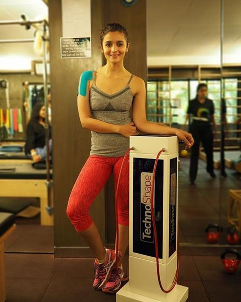 Unseen pic of alia in gym