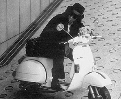 """Yusaku Matsuda ride in """"Tantei-Monogatari"""""""