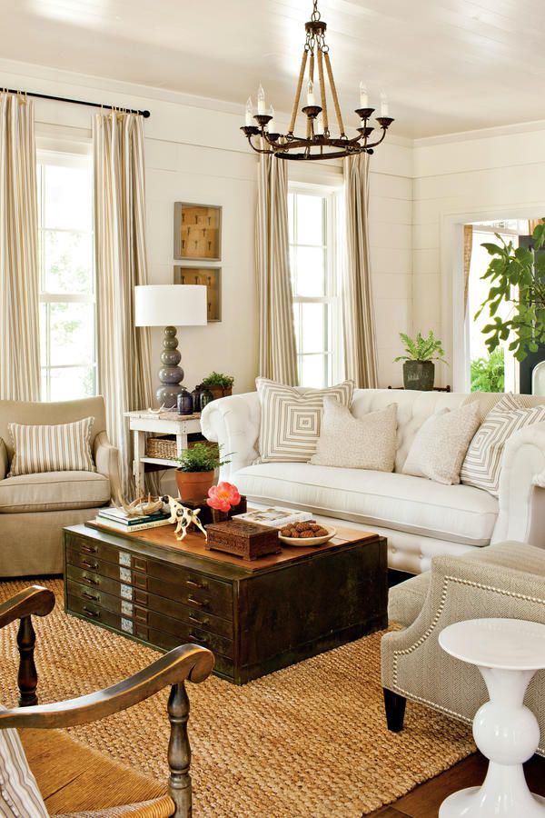 48 Best Living Room Images On Pinterest Farmhouse Design Home Unique Southern Living Rooms Creative