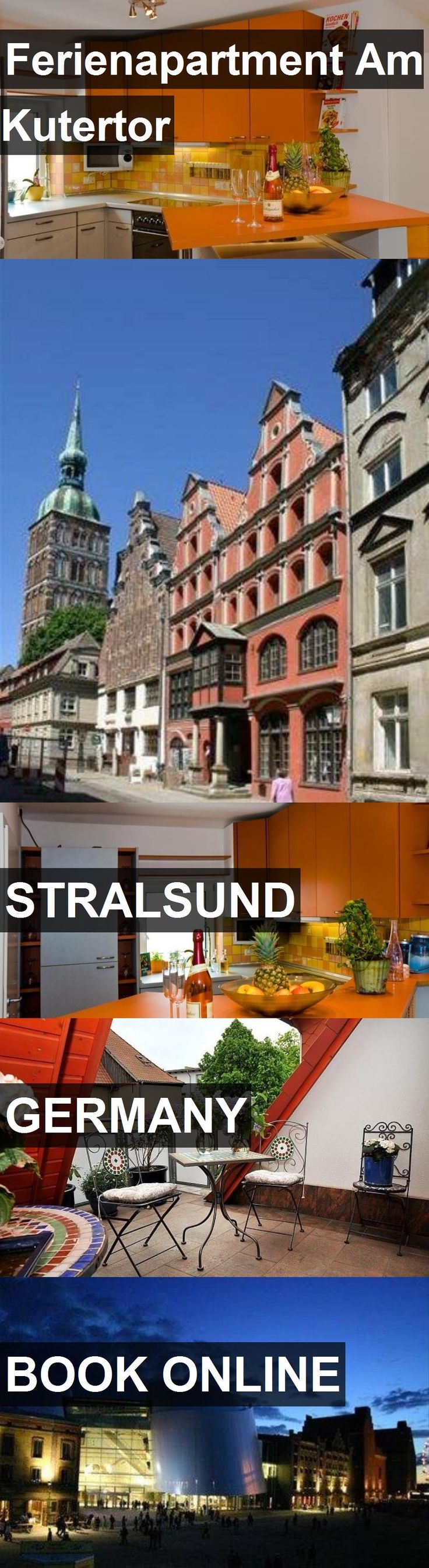 Hotel Ferienapartment Am Kutertor in Stralsund, Germany. For more information, photos, reviews and best prices please follow the link. #Germany #Stralsund #FerienapartmentAmKutertor #hotel #travel #vacation