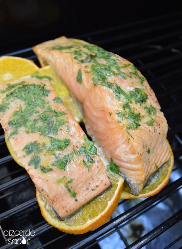 Cómo cocinar pescados a la parrilla o asador | http://www.pizcadesabor.com/2014/08/23/como-cocinar-pescados-la-parrilla-o-asador/
