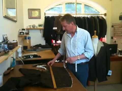 Savile Row Tailors - English Cut - YouTube
