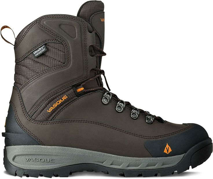 Warm and dry, the Vasque Snowburban UltraDry winter boots have a comfort rating of -45°F. #REIGifts