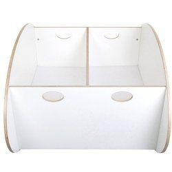 So Ro Contemporary Twin Cradle in White  http://www.babystoreshop.com/so-ro-contemporary-twin-cradle-in-white/